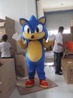 Wholesale Sonic Fancy Dress - Sonic Hedgehog Mascot Costume Fancy Dress