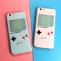 Wholesale Machine For Phones - For Iphone 7 8 7 8plus Huawei glory9 P10 Mobile Phone Case Recreational Machines Pattern Phone Shell Silicone Soft Cover Creative Phone Sets