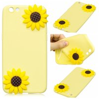 Wholesale Mobie Phones - Cover Cases For OPPO R9S Coque Candy Silicone Stereoscopic Sunflower Cactus Ice cream Fruits Soft silica gel Mobie Phone Case