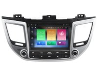 Wholesale Hyundai Ix35 Dvd Gps - Navirider 2GB ram 32gb ROM octa core Android 6.0 Car DVD player GPS for HYUNDAI TUCSON ix35 2016 stereo head units DVR RADIO 3G GPS NAVI
