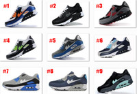 Wholesale Classic Leather Boots For Men - free shipping New Classic Max 90 Running Shoes For Men,Brand Airirs Soft Cushion Outdoor Sneakers Sports Shoes size 7-12