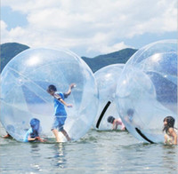 Wholesale sport balls for sale - Group buy 1 m m m inflatable Water Walking balls PVC zorb ball water walk balls dancing ball sports water rolling ball