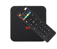Wholesale top android boxes - MXQ PRO Android tv box RK3329 Android 7.1 1G 8G WiFi 4K Loaded add-ons 1080i p set top box Free shipping