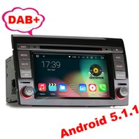 "Wholesale Navigator Gps 3g - 7"" Car DVD GPS For Fiat Bravo Android 5.1 Quad core DAB+ 3G OBD DTV DVR-IN Stereo Radio Wifi Mirror Link"
