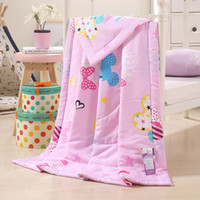 Wholesale Home textile cotton Suitable for Children Kids baby quilt Duvet cover Cartoon comforter cover mouse color