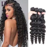 Wholesale Buying Human Hair Weave Wholesale - Buy 3 Get 4!Brazilian Loose Wave Human Hair Extensions Malaysian Indian Peruvian Hair Bundles Unprocessed Human Hair