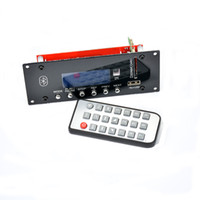 Wholesale Freeshipping Bluetooth HIFI Audio Accessories Lossless Support U Disk SD LCD Display FM Audio Decoder Board