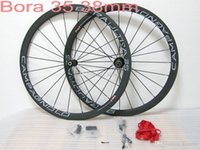 Wholesale Bora G3 - Campagnolo bora Ultra 35 Paint 38mm g3 Brown Color Clincher Carbon Wheelset tubular clincher bicycle wheels