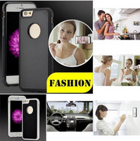 Wholesale anti gravity car online – Anti gravity Phone Case For iPhone Plus s Plus s SE Magical Anti gravity Nano Suction Cover Adsorbed Car Antigravity Cases