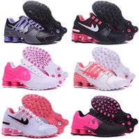 Wholesale Girls Size Flats - 2017 Hot Sale Drop Shipping Famous Shox Avenue NZ DELIVER Girls Womens Athletic Sneakers Sports Running Shoes Size 5.5-8.5