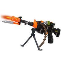 Wholesale Wholesale Toys Guns Machine - Machine Gun Ak-74 With Light and Sound #123-744