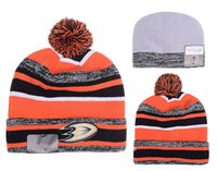 NUEVO HOT Sport KNIT ANAHEIM DUCKS Baseball Club Beanies Equipo Sombrero Gorras de Invierno Popular Gorro Al Por Mayor Fix Regalo Barato VENTA