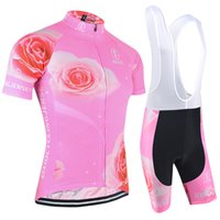 Wholesale Road Cycling Set Clothing - BXIO Summer Woman Cycling Set Sports Wear Cycle Clothes Short Sleeve Road Bike Clothing With 3 Rear Pockets Cycling Jerseys BX-121