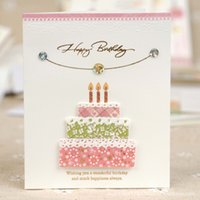 Wholesale wholesale greeting card envelopes - 30 Assorted Happy Birthday Greeting Cards With Envelopes Christmas Greeting card 5041926