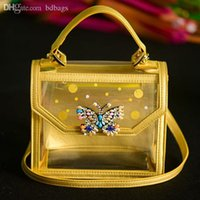 Wholesale Shourouk Handbag - Wholesale-Designer Handbags High Quality Shourouk Women Messenger Bags Women Famous Brands Transparent Shoulder Bag 2015 Bolsas Femininas