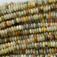 "Wholesale Natural Lace Agate - Wholesale- Wholesale Perfect Natural Crazy Lace Agate Rondelle Loose Stone Small Beads Fit Jewelry DIY Necklaces or Bracelets 15"" 03994"