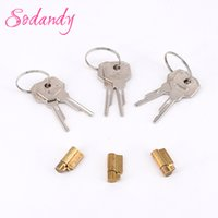 Wholesale Wholesale Male Chastity Device - SODANDY 3set Lock And Key For New Chastity Device Cock Cage Restraint Penis Stealth Locks