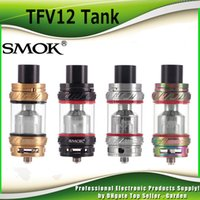 Wholesale Sub 12 - Original SMOK TFV12 Tank Cloud Beast King 6.0ml Top Refilling Sub Ohm TFV 12 Atomizer Fit V12-T12 V12-X4 V12-Q4 Coils100% Genuine SmokTech