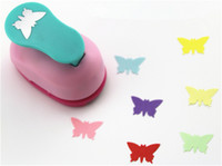 Wholesale Diy Art Foam Craft - Wholesale- free shipping 1 inch butterfly design eva foam punch paper puncher scrapbooking cutter hole punch craft punch for DIY artwork