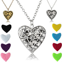 Aromaterapia óleo essencial Oil Diffuser Colar Oco Cross Locket Pendant Love Heart Foto Locket Pendant Necklace Com 23,62