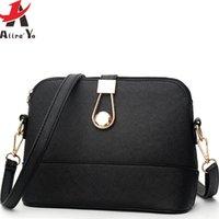Wholesale Style Leather Bag - Wholesale-Attra-Yo! famous brands women handbag women messenger bags summer style women's pouch bag ladies cross body leather bag LM3052ay
