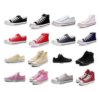 Men %26 Women Sneakers online - 13 Color 26 style All Size 35-46 Low Style high Style chuck Classic Canvas Shoe Sneakers Men Women sport Shoes Casual Shoes.