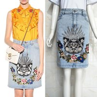 Dropshipping Knee Length Denim Skirt UK | Free UK Delivery on Knee ...