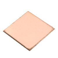Wholesale Copper Plate Sheet - Wholesale- 10PCS 0.1mm 0.3mm 0.5mm 0.8mm  Laptop Heatsink Sheet Copper Sheet Plate Strip Shim Thermal Pad For GPU CPU VGA Chip RAM Cooling