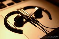 Wholesale Denmark Silver - Denmark BO A8 Ear hook earphone Sport running waterproof in-ear earbud HIFI bass Metal music headphone for iphone MP3