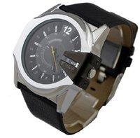 Wholesale Mens Top Brand Luxury - New Mens Watches Top Brand Luxury DZ Fashion Casual Mens Quartz Watch Waterproof Sport Military Wristwatch Male Clock Relogio Masculino