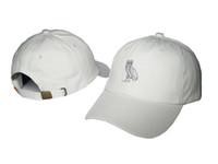 Wholesale Sun Hats Hip Hop - Hot style ovo Hip hop hat sunscreen cap golf cap spring summer sun hats for men and women tide model baseball cap drake