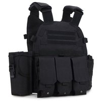 Wholesale Outdoor Tactical Vest - Cheap Sports outdoor US Molle Tactical Vest CS Combat Vest Hunting Practical Plate Carrier for Sale