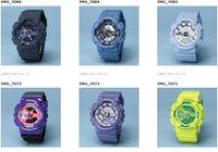 Wholesale Watch Automatic Lights - All Function Work Men Denim Watches G110 LED chronograph wristwatch Auto light G 100 Relojes Hombre Horloge Orologio Montre automatic Watch