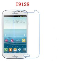 Wholesale Galaxy Grand I879 - Soft Explosion-proof Nano for Samsung I9128 I9128V I879 Galaxy Grand Phone Protection film touch Screen Protector (Not Tempered Glass)