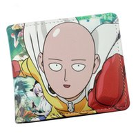 Wholesale blue tail cosplay - Wholesale- One Punch Man  Fairy Tail Zelda Hell Sing Anime Cosplay Wallet With Card Holder Dollar Price
