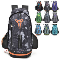 Wholesale Tie Dye Backpacks - Basketball Backpacks New KOBE BRYANT Packs Backpack Man's Bags Large Capacity Waterproof Training Travel Bags Shoes Bags Free Shipping