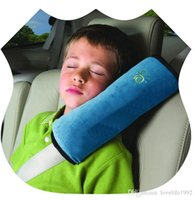 Wholesale Shoulder Belt Protectors - Soft comfortable car seat safety belt cover shoulder pad  strap protector for kids