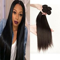 Wholesale 18 Inch Brazilian Remy Hair - Brazilian 8A Straight Hair 3 Bundles 100% Unprocessed Human Hair Remy Human Hair 300g Natural Black (14 16 18 inches, Natural Color)