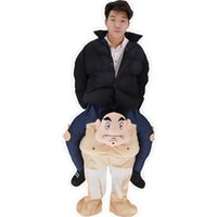 Wholesale Mascot Funny - 2017 mascot costume took me riding a sumo Christmas dress funny costumes