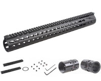 Wholesale Picatinny Rail Mount Ar - Tactical .308 Slim KeyMod 17 Inch Free Float Handguard Picatinny Rail Mount Scope Bracket fit AR10 AR-10