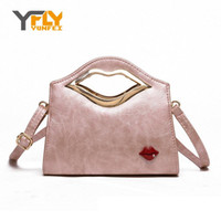 Wholesale Hot News Women - Wholesale- Y-FLY Hot Sale 2016 News Sexy Slip Women Bag High Quality PU Leather Messenger Bag Girls Casual Handbags Tote Bag Ladies HC129