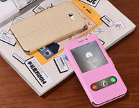 Wholesale Windows Closer - Magnetic Closed Windows Flip Leather Case for Samsung Galaxy J7 Prime   On7 2016 Mobile Phone Coque folio Fundas Caso Cas Bag