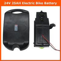 frosch batterie lithium großhandel-24 V batterie 24 V 25AH elektrisches fahrrad Lithium ionen ebike frösche batteriepack mit 30A BMS 29,4 V 3A ladegerät