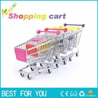 Hot Sale Vogue Cute Mini Shopping Cart Supermercado Handcart Stainless Steel Mode Storage