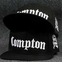 Wholesale Wholesale Ssur - Fitted Snapback SSUR Compton Snapback Hats Starter Compton for Men And Women Adjustable Baseball Caps Hiphop Bboy Dancer Cap DHL Free