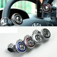 Wholesale Auto Steering Wheel Spinner - Universal Car Auto Hand Control Power Handle Grip Spinner Knob Car Steering Wheel Ball Booster Strengthener Spot direct