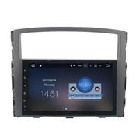 """Wholesale Dvd Car Mitsubishi Pajero - 9"""" Android 7.1 System Car DVD Auto Stereo For Mitsubishi Pajero 2006-2011 GPS Receiver Head Unit OBD DVR WIFI 4G HDMI Quad Core Touch Screen"""