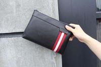 Wholesale Handmade Clutches - Clutch bags men Genuine leather handmade man bags luxury High quality brand Wallets men handbags size 27*17*3 cm Model 141524730