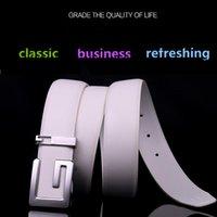 Wholesale Cheap Belts For Sale - Fashion 2017 cow genuine leather Mens Womens pattern Belts for G Shape Alloy Buckle Fashion Waistband Waist Belt Cinturon Hombre Cheap Sale