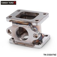 Wholesale t25 flange - TANSKY -T25 to T25, T2 to T2 + 38mm Cast Iron Wastegate Flange Manifold Turbo Charge Adaptor Adapter TK-CGQ174Z